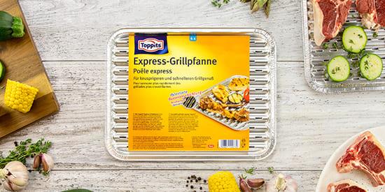 Barquette grill Express de Toppits®