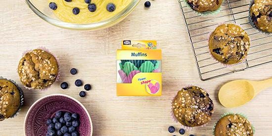 Muffins fleurs de Toppits®