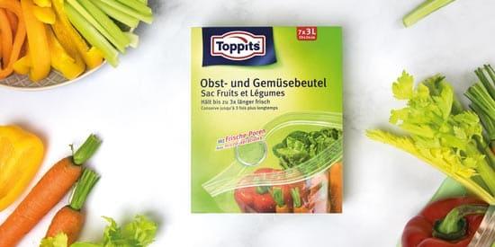 Sacs fruits et légumes de Toppits®